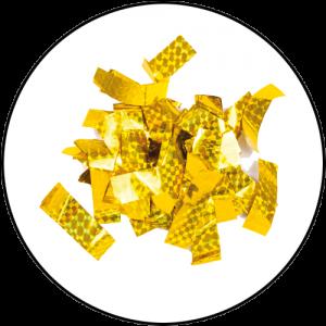 Slow-fall - Laser confetti