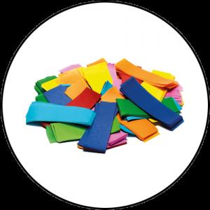 Slow-fall confetti - rectangle