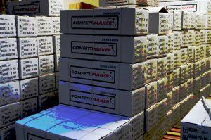 The Confettimaker stock/voorraad