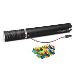 Handheld slow-fall confetti cannon 50 cm
