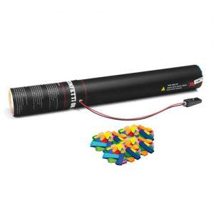 Handheld slow-fall confetti cannon 50 cm