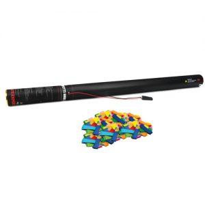 Handheld slow-fall confetti cannon 80 cm