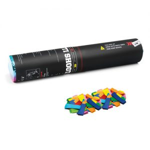 Handheld slow-fall confetti cannon 28 cm