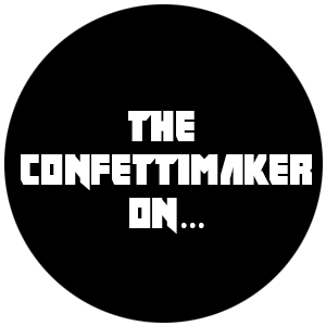 The Confettimaker on Facebook, Instagram and Twitter